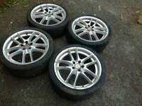 """5x100 17"""" alloys wheels"""