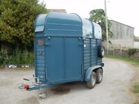 Rice Europa Horse Box/ Trailer