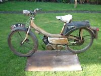 Vintage Raleigh Moped RM6 - 1964