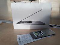 "8 Week Old Apple MacBook Pro 15"" Touch-Bar Model, Quad i7, 512 GB SSD, 16g ram, Radeon 455, Receipt"