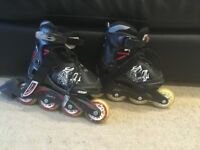Boys Bladerunner Phaser XR Skates, Adjustable - 4 sizes