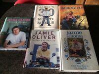 Jamie Oliver cook books