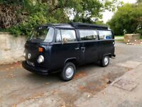 Volkswagen Type 2 Devon Camper (1972) 1 years MOT Genuine 92000 miles