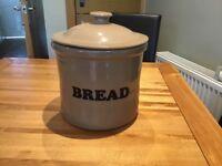 Earthenware Bread Bin