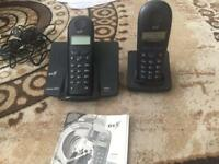 2 Siemens Handset phone