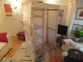 Canvas Wardrobe - excellent condition