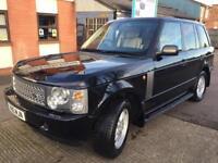 Land Rover reng rover 3.0 diesel auto sat nav top of the reng