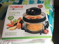 Tower Low Fat Air Fryer - Used only once in original box