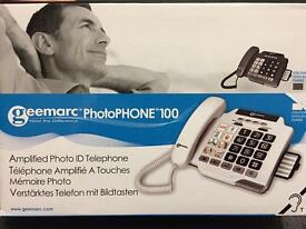 Amplified Photo ID Telephone (brand new in box) £30