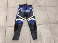 Motorbike leather trousers 32 waist x 30 leg. Rst Alpinestars style