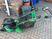 John Deere self drive petrol lawnmower