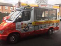 merc ice cream van