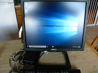 Dell 760 Ultra small form factor PC with Dell monitor Win 10