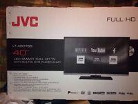 JVC 40'' LED SMART FULL HD TV