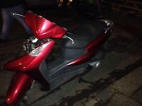 Honda Dylan 125cc Engine Exhaust And Carb 2007 Model