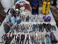 JOB LOT doctor who figures and Tardis related items