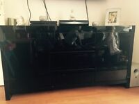 NEXT BLACK HIGH GLOSS SIDEBOARD FOR SALE