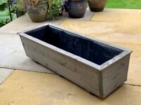 Wooden Window Box Planter for Flowers/Plant or Vegetables