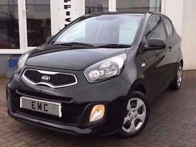 2014 14 Kia Picanto 1.0 68bhp Picanto 1~£0 ROAD TAX !~VERY LOW MILEAGE