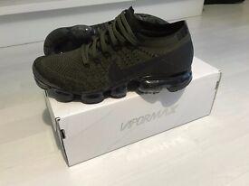 NEW Nike Air Vapormax - Cargo Khaki / Medium-Black Olive, size 7 UK