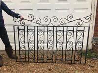 Wrought Iron Fence Panels