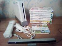 Nintendo Wii Sports Resort Bundle, Motion Plus Controller, Nunchuck + 10 Games