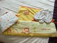 Bedding for a crib / small cot