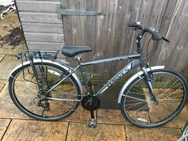 Dawes Discovery 201 Hybrid/Tourer Bike, Serviced, Lovely condition, Free D-Lock, Delivery. Warranty