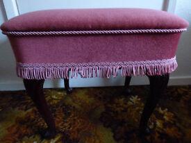 Velour Padded stool
