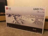 "55"" LG 4K UHD TV brand new"