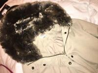 M&S fur hooded Parka