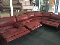 New/Ex Display Large LazyBoy Group Recliner Sofa + Recliner Chair (Left or Right Corner)