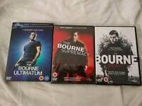 Bourne DVD trilogy