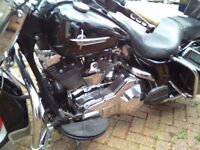 NOW SOLD Harley Davidson road king with loads of extras sounds awesome