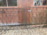 Wrought Iron Gates for Driveway - Pre-owned