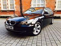 2009 BMW 5 Series 2.0 520d SE Business Edition estate Touring +1 OWNER +HUGE SPEC not 525d 530d