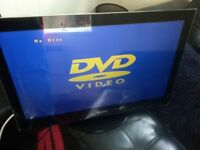 24 INCH TECHNIKA HDMI FREE VIEW TV/DVD COMBI GREAT FOR GAMING ETC