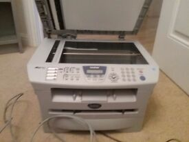 Brother fax printer and copy machine