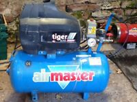 Clarke tiger 8/45 turbo air compressor