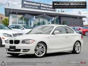 2011 BMW 128i PREMIUM/SPORT PKG |ROOF|PHONE|RED.INT|P.SHIFT