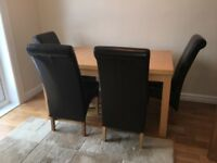 Free Dining Table only, no chairs, sits 4 - 8 extended, free if can be collected wed or thus