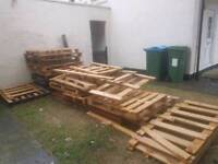 Free pallets and wood Wendover