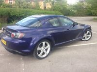 TIME TO TREAT YOURSELF? ~ HERE IT IS 05 MAZDA RX8 231PS £3000 NEW ENGINE £995 STUNNA, GORGEOUS - SEE