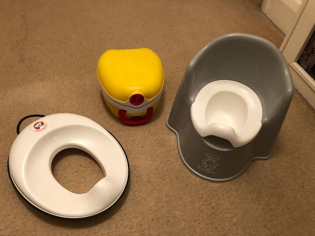Amazing Baby Bjorn Potty Toilet Seat And My Carry Travel Potty In Richmond London Gumtree Creativecarmelina Interior Chair Design Creativecarmelinacom