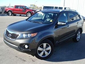 2013 Kia Sorento EX AWD - leather - sunroof! Regina Regina Area image 1