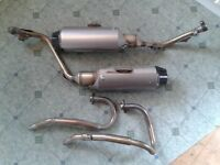 Honda fmx 650 Exhaust