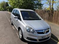 Vauxhall Zafira ELITE 7 seater family car 2007 with tow bar
