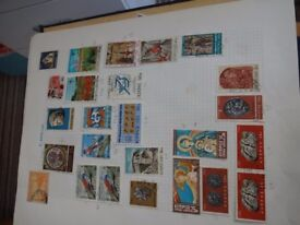 Various beautiful stamps 25+ from Cyprus
