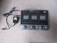 Zoom G3 guitar multieffects pedal