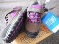 BRAND NEW IN BOX Regatta Waterproof Walking Hiking Shoes Boots Size 3 (Euro36)